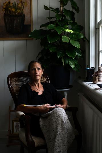 Anna Dijkman door Abel Ponger Portret Fotografie Amsterdam
